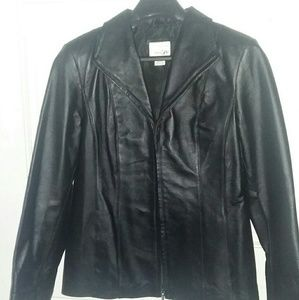 East 5th leather jacket sz small